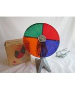 Colortone Roto Wheel Snapit Vintage Aluminum Tree Light 4 Colors - $34.99