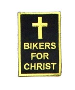 Embroidered Christian Patch Bikers For Christ P... - $3.22