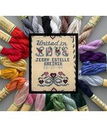 Silk Mori Kreinik Collection 25 1/2 skeins cros... - $36.65