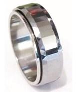 TU3027 Tungsten Carbide Spinning Ring Size 11.5 - $24.99