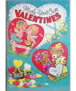 Vintage VALENTINES copyright 1952 UNUSED MAKE Y... - $15.00