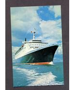 Cunard  Queen Elizabeth 2 Postcard Ships Boats ... - $4.99