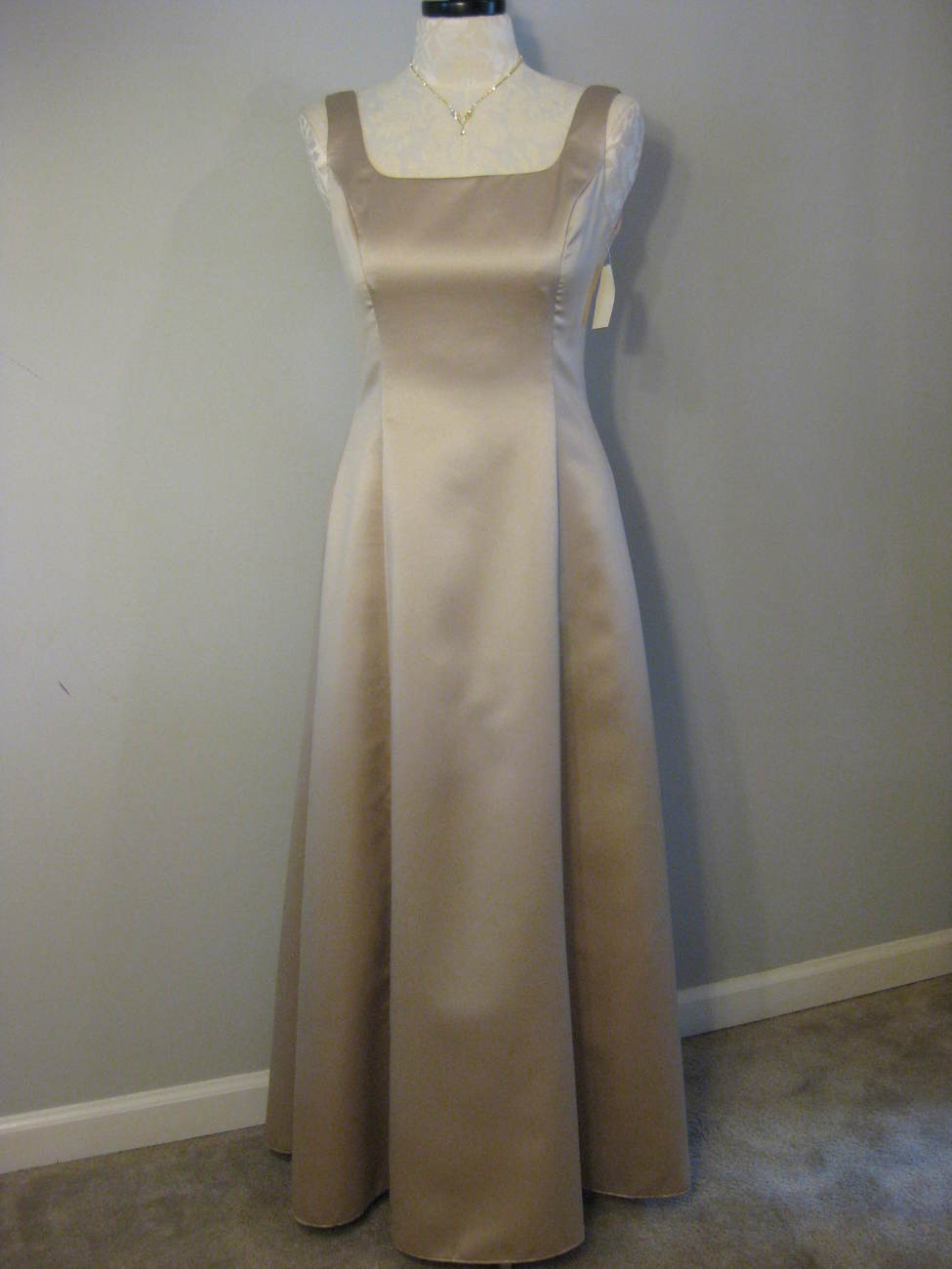 Formal Satin Gown By Jessica McClintock Size 10