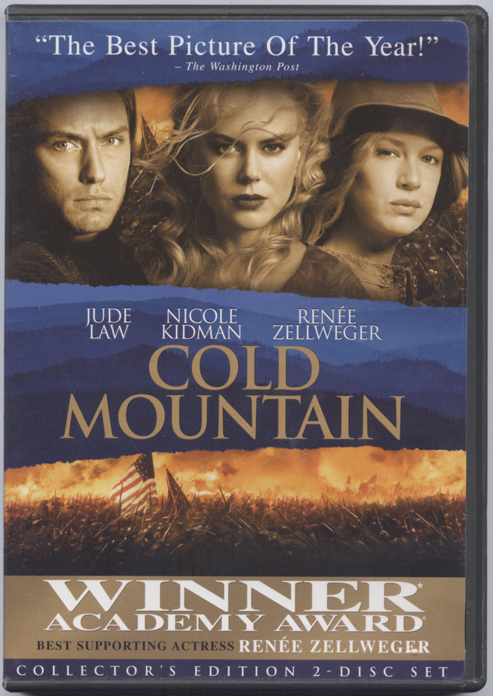Nicole Kidman Academy Award Cold Mountain DVD Movie Widescreen Rated R
