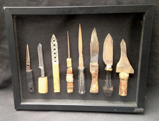 Fantastic Antique Folk Art Collection of Prison Shivs/Shanks - circa 1930's-1960