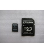 Kingston MicroSD TransFlash 4GB SDHC Memory Car... - $7.59