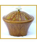 California Original Pottery Tan Orange Cookie Jar  - $37.00