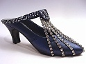 Stardust Memories Midnight Blue Cascade Dazzle Rhinestones Just the Right Shoe