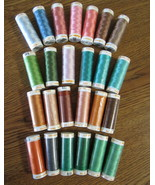 Mettler Cotton Embroidery Thread 30 wt. 25 spoo... - $55.95