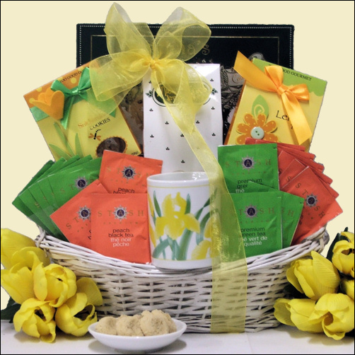 Buy southern food gift baskets - Soul Celebration: Gourmet Tea Gift Basket