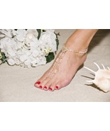 Heirloom Treasure Handcrafted Beaded Barefoot S... - $69.99