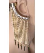 Ear sweep Ear Climber Cuff Crystal Droplets Cuf... - $14.97