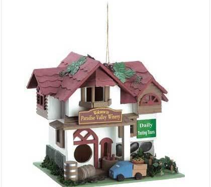 Paradise Winery Birdhouse
