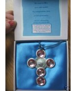 Blessed Virgin Mary AFFIRMATION Pendant Necklac... - $14.99