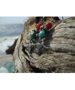 Southwestern Longhorn Faux Turquoise carnelian ... - $8.99