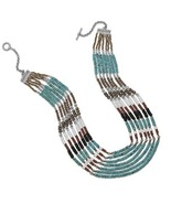Multistrand Turquoise and Multibead Toggle Neck... - $759.95