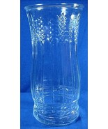 Vintage Brody Co. Clear Glass Rose Vase - Wheat... - $7.00
