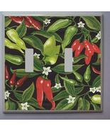 CHILI PEPPERS LIGHT SWITCH PLATE - $11.99