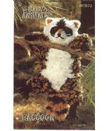 RARE ANNIE'S BABY ANIMALS~RACCOON CROCHET PATTERN - £10.33 GBP