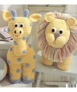 Giraffe~Mouse~Elephant~Bunny~Lion~Animal Croche... - £15.15 GBP