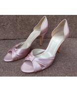 ANNE KLEIN new SHOES womens 8 M SOFT pink SILK ... - $80.08