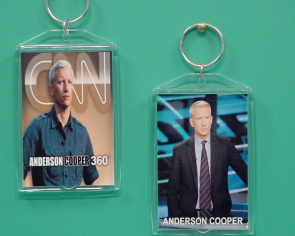 Anderson Cooper 2 Photo Designer Collectible Keychain 02
