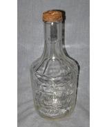 Mogen David Glass Bottle Partial Lid c1960 Jewi... - $3.75