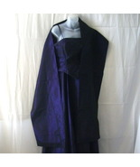 J S Collections purple gown with wrap for weddi... - $69.00