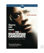 The Manchurian Candidate (2004 DVD) Denzel Wash... - $5.00