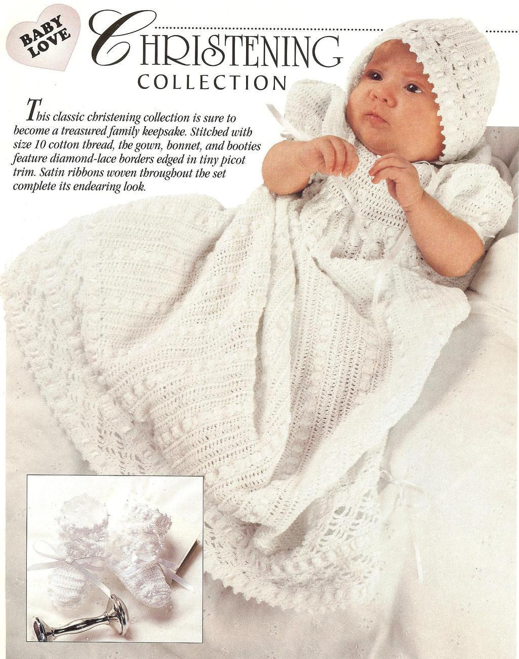 CHRISTENING CROCHET FREE GOWN PATTERN « CROCHET FREE PATTERNS
