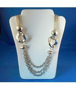 Vintage Chain Link Belt Or Necklace Silver Tone... - $12.99