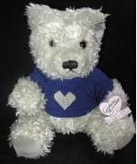 Annette Funicello Joshua Teddy Bear Grey Blue H... - $19.00