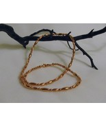 Copper Beaded Necklace 19 inches, RKMixables Co... - $12.00