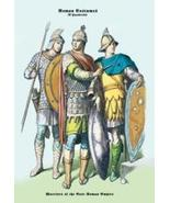 Roman Costumes: Warriors Empire PRINT - $47.89