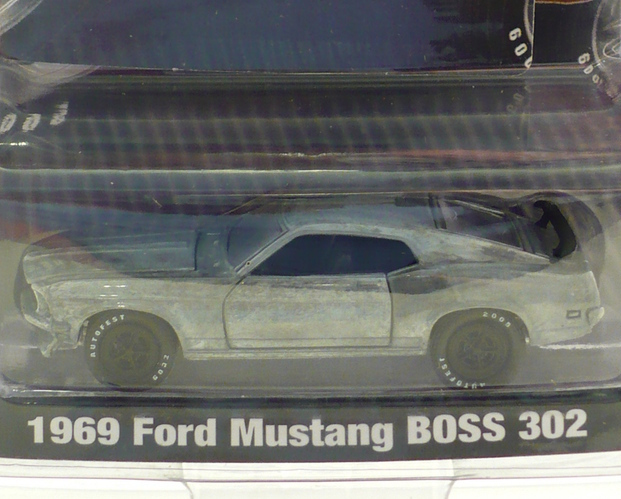 Auto Fest 09 Event Greenlight 69 Ford Mustang Boss 302 Raw Version Limited Ed