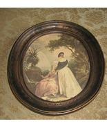 A 'Coppercraft Guild' Oval Framed Print - $20.25