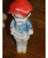Vintage Doll Boy Bisque Japan Cold Paint   - $12.00