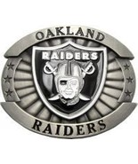 Licensed Oakland Raiders Belt Buckle - $19.00