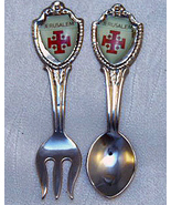 Jerusalem Red Cross Vintage Collector Spoon and... - $9.50