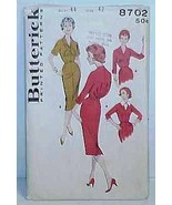 1950's/60's DRESS Pattern 8702-b Size 44   -   ... - $12.99