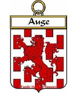 Auge French Coat of Arms Auge Family Crest - $25.00