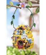 Bee Hive Birdhouse w/ Hanging Hook - $21.95