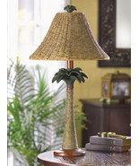 Table Lamp Palm Tree Base - $35.00