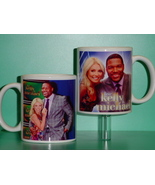 Kelly Ripa and & Michael Strahan 2 Photo Designer Collectible Mug  - $14.95