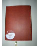 FORAY BROWN SOFT FAUX LEATHER REFILLABLE 5