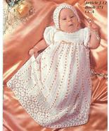 HEIRLOOM BABY CHRISTENING SET CROCHET PATTERNS~... - £17.22 GBP