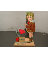 Vintage Valentine Victorian Girl Make Believe R... - $20.00