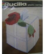Pattern Kit, Bucilla Roses Tissue Box Cover  - $5.00