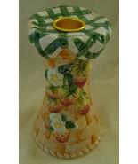 Candlestick Holder, Strawberry Picnic Basket   - $10.00