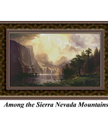 Among the Sierra Nevada Mountains, Trees Counte... - $45.00